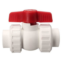 Brass Body PPR Double Union Plastic Ball Valve