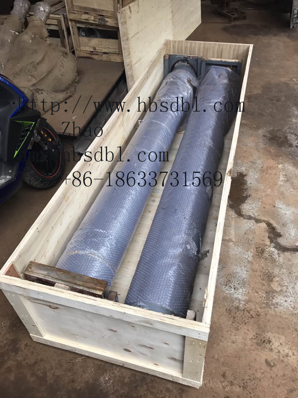concrete pump delivery cylinder