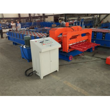 CE Standard Glazed Roof Tile Roll Forming Machine