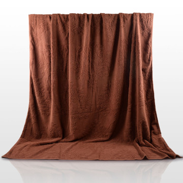 Wholesale Large Blanket Throw in Coffee Color