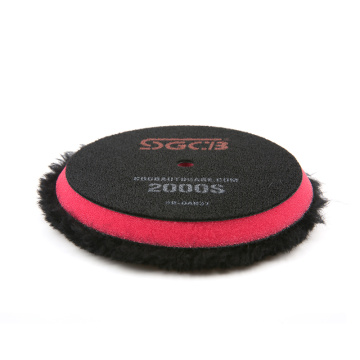 6inch wool pad buffing for car polisher