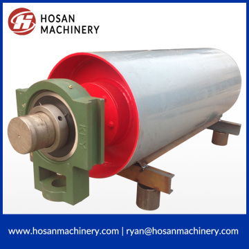 Cheap for Mining Conveyor Motor Pulley Belt conveyor steel roller pulley snub pulley supply to Singapore Exporter
