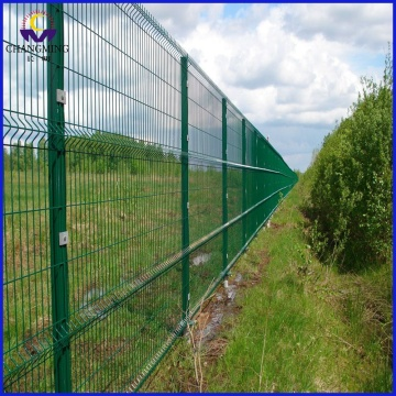 3 Folds Curvy Welded Wire Mesh Fence
