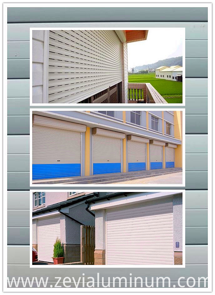 Aluminum profile of rolling shutter door