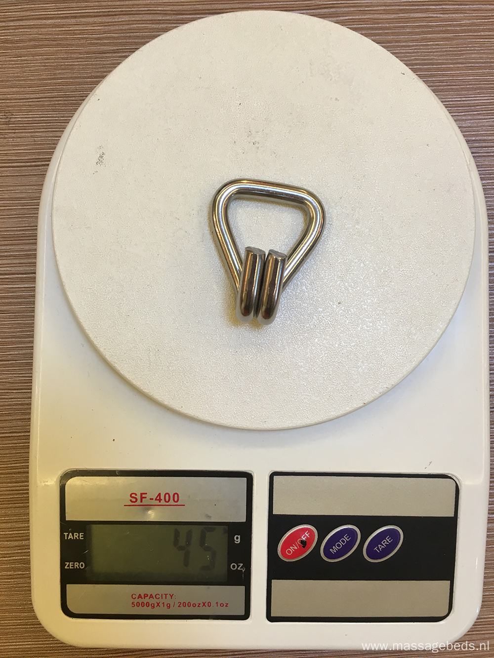 25MM Stainless Steel 304/316 Double J Hook With 800kgs