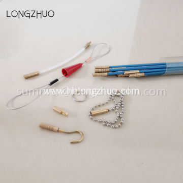 Connectable Fish Tape Kit Cable Wire Pulling Rod