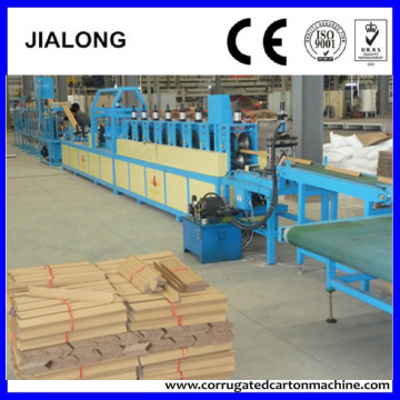 High Speed Paper Corner Edge Protector Production Machine