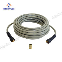 No kink high pressure power washer hose