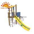 Long Slide Outdoor Playground Equipment For Children
