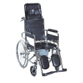 Hospital Medical Commode Toilet Wheel Chair