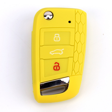 Mesebetsi ea 3 Li-Buttons Car Key Cover Wholesale