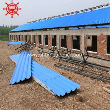 Reinforced Fireproof Corrosion-resistant MgO Roofing Sheet