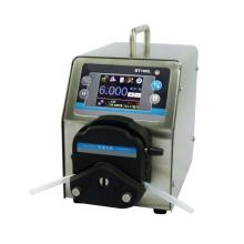 Stainless steel flow dispense medical peristaltic pump