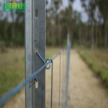 High Quality Australia Galvanized Steel Fence Y Post