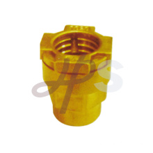 Brass pe ppr straight female coupling