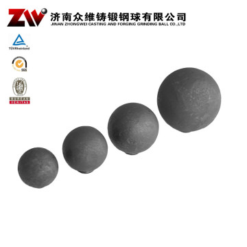 Hot rolling Forged grinding balls for mining 15mm