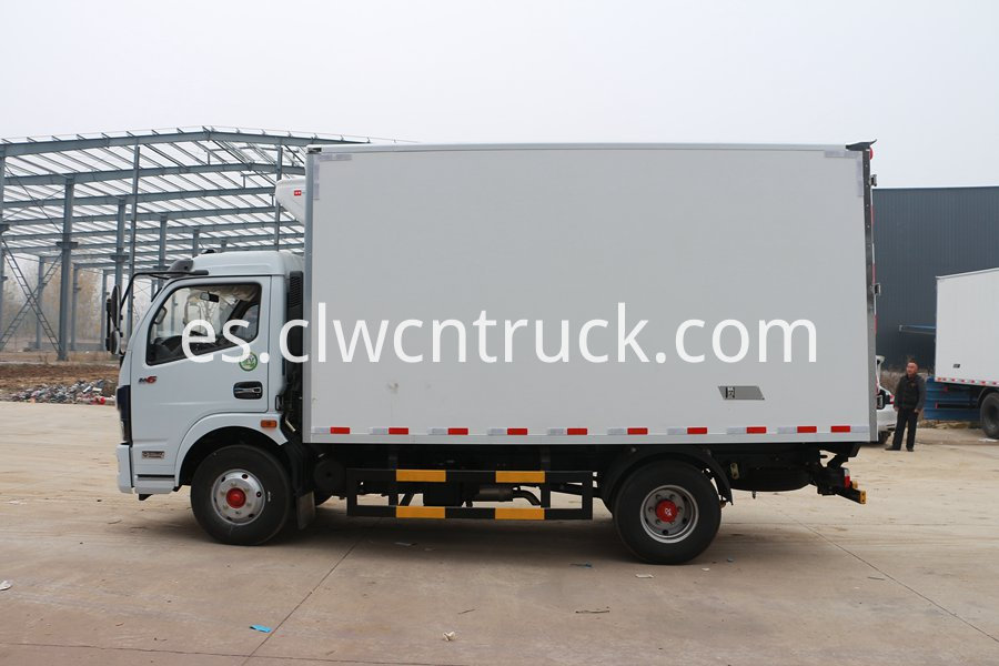 truck with refrigerator 1
