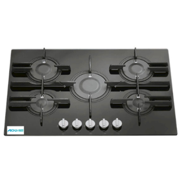 Stove For Integral Kitchen 5 Burner