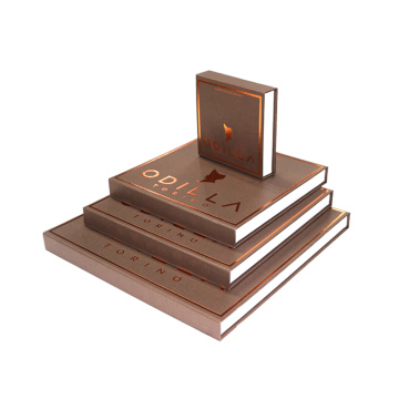 Customized Size Book Shape Chocolate Macarons Box