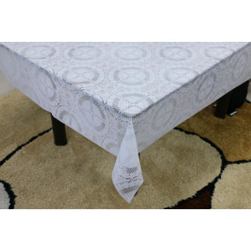 gauge Printed pvc lace tablecloth by roll