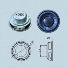 High Definition for Mini Lamp Speaker 40MM 4ohm 3W Small Multimedia Speaker export to Cyprus Manufacturer
