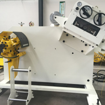 Roller Coil Straightening Machine With Uncoiler