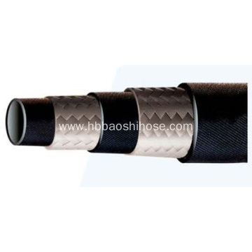 2-layers Fiber Braided Rubber Tube