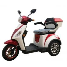 Battery three wheel electric motorcycle