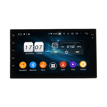 2din 7in nga unibersal nga deckless car stereo