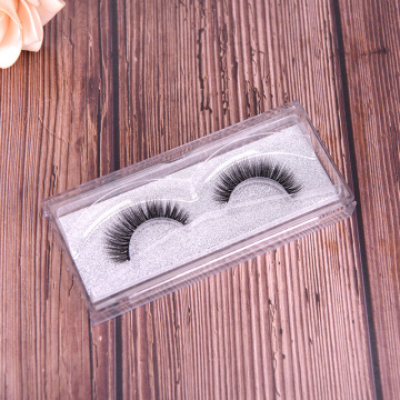 Faux Mink false Eyelashes  Plastic Package