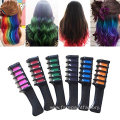Temporary Colored Mini Hair Chalk Comb Set