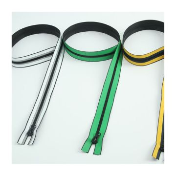Continuous 11inch plastic zipper for garment