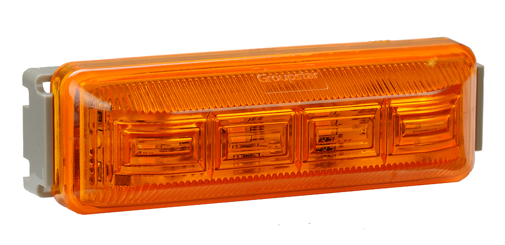SAE/DOT Approved LED Commercial Vehicle Clearance Light