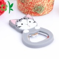Safety Silicone Cartoon Beer Bottle Opener Non-slip Easy