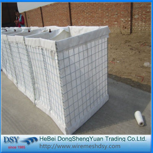Hot Dipped Galvanized Hesco Barrier for Security Wall