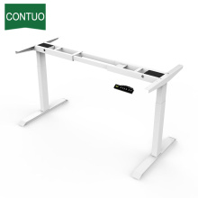 Online Manufacturer for Two Legs Standing Desk Electric Height Adjustable Table Leg With Lift Column export to Cote D'Ivoire Factory