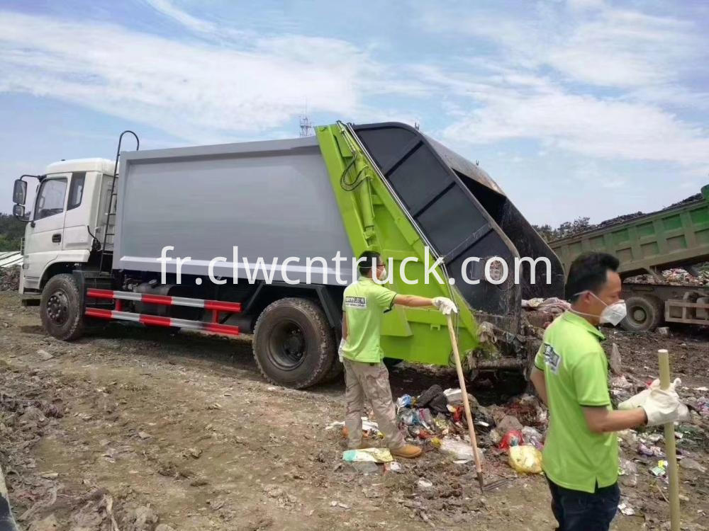 Waste Process Truck 5