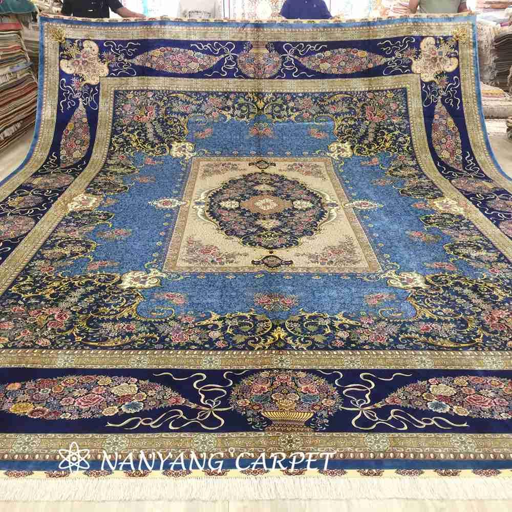 13.1x16.4 ft silk rug