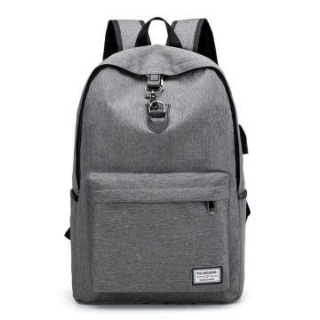 Business fashion usb travelling waterproof laptop backpack
