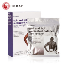 Good User Reputation for Transdermal Pain Relief Patches Cold and hot medicated patch for Man export to Belgium Manufacturer
