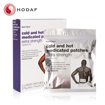 Professional medicine cool and hot patch