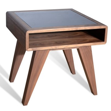 Nova Mid-Century Walnut End Table