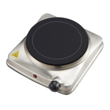 Electric solid hotplate single burner