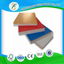 Good Quality 18mm Melamine Color Plywood
