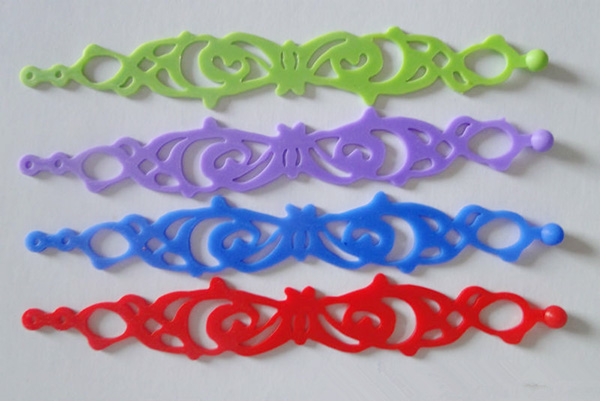 Silicone Hand Band Colorful Patterns