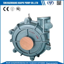 AH HH metal lined horizontal slurry pumps