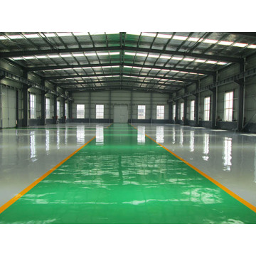 2MM epoxy resin flat coating floor