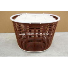 Brown Rear Bike Rack Basket