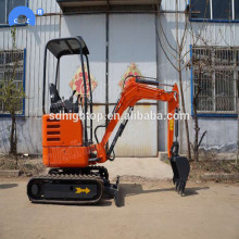Hot sale reasonable price for 0.8T Small Excavator high performance micro mini digger excavator in Philippines supply to Ghana Factories