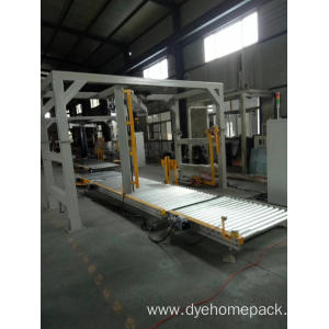 Automatic stretch wrapping machine/Runner Arm